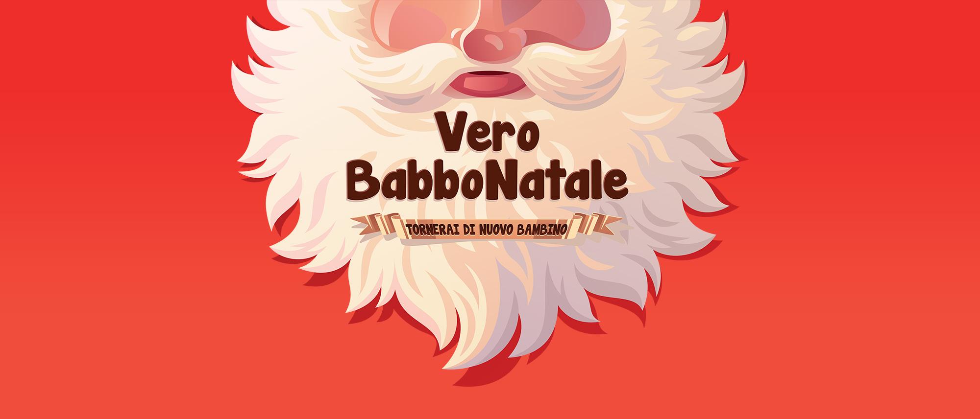 Vero Babbo Natale, l'unico brand specializzato nella fornitura di veri sosia di Babbo Natale!