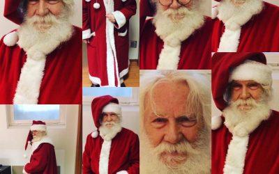 La consegna dei regali a domicilio da parte di Babbo Natale a Roma
