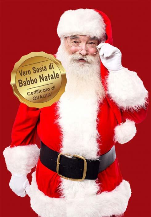 Vero Babbo Natale di Qualità