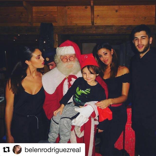 Belén Rodríguez e Vero Babbo Natale