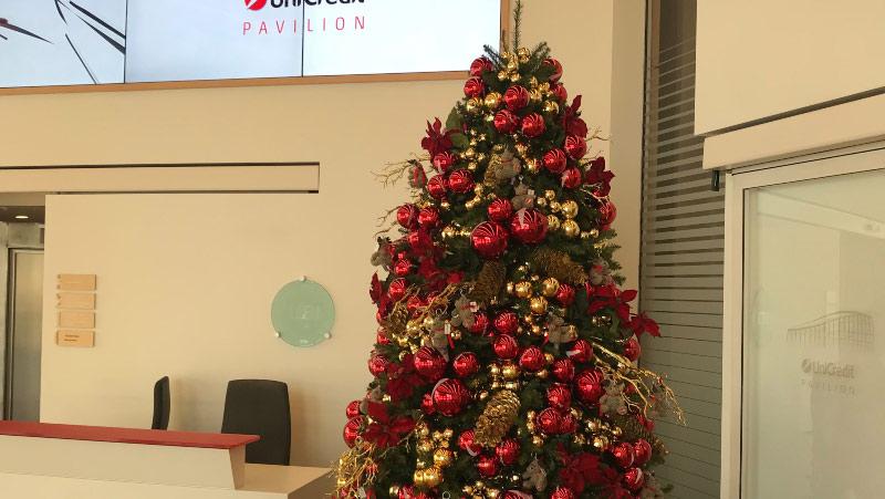 albero di Natale unicredit