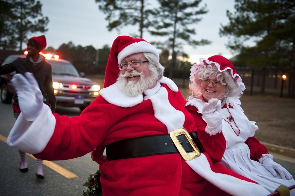 Mrs Claus e Santa cLaus