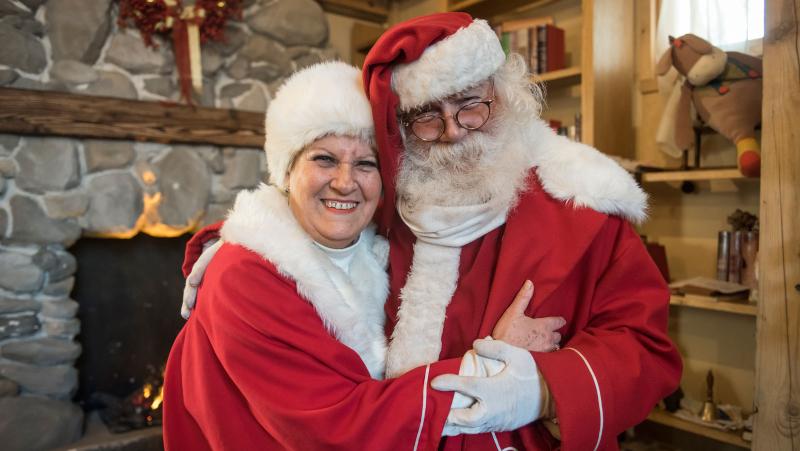 Mamma Natale e Babbo Natale