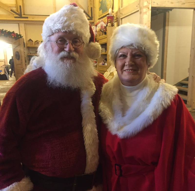 Mamma Natale con Babbo Natale
