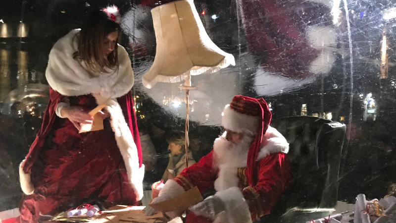 spettacolo di Natale a Bergamo