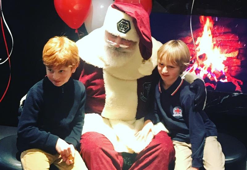 festa di Natale con Babbo Natale