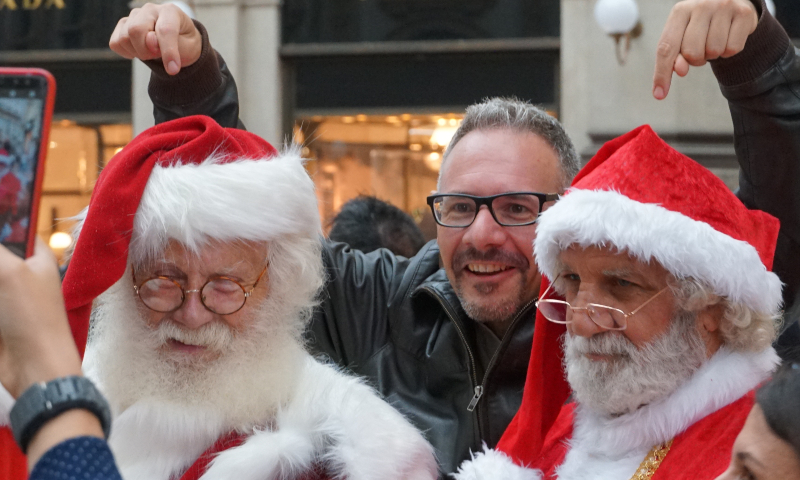 Babbo Natale doppio