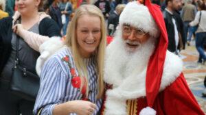 foto con Babbo Natale