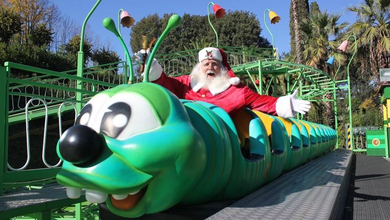 Babbo Natale parco giochi