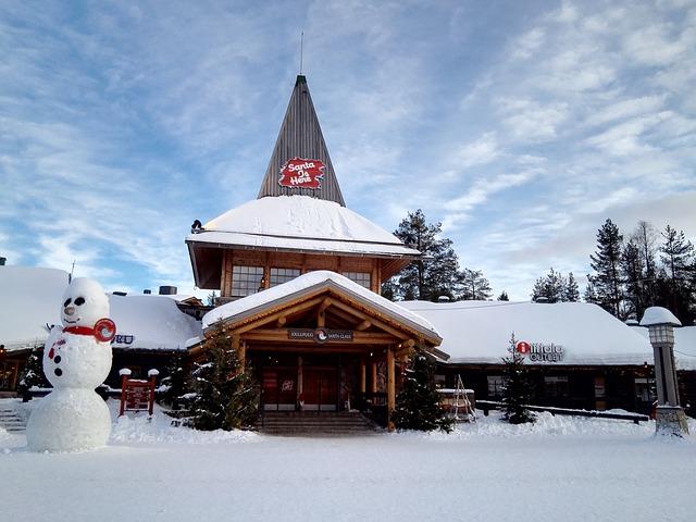 Casa di babbo natale Rovaniemi