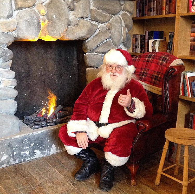 Babbo Natale in videoconferenza