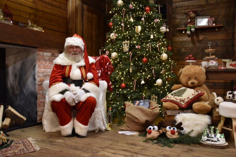 set Vero Babbo Natale