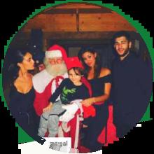Belen con Vero Babbo Natale