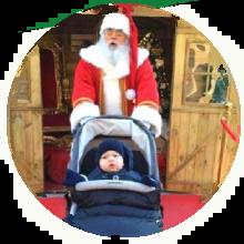 Leone con Vero Babbo Natale