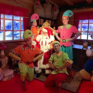 Babbo Natale al Parco divertimenti di Gardaland