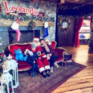 Babbo Natale al Parco divertimenti di Leolandia