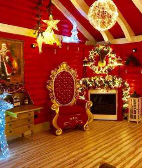 Trono di Babbo Natale