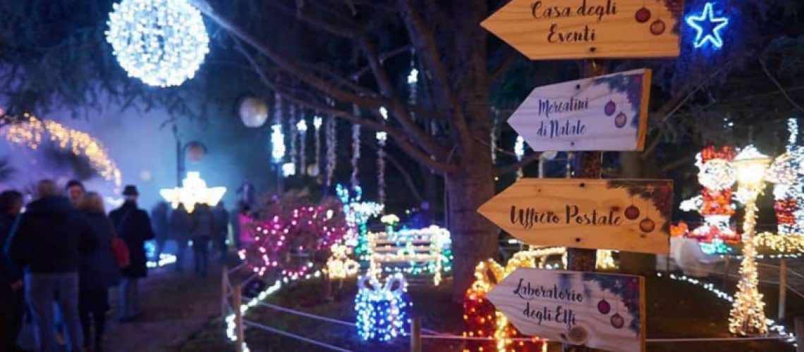Indicazioni del paese di Babbo Natale